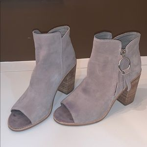 dolce vita heeled open toe booties